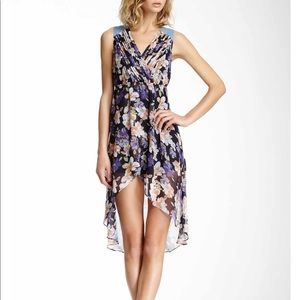 Very J Hi-Lo Floral Dress